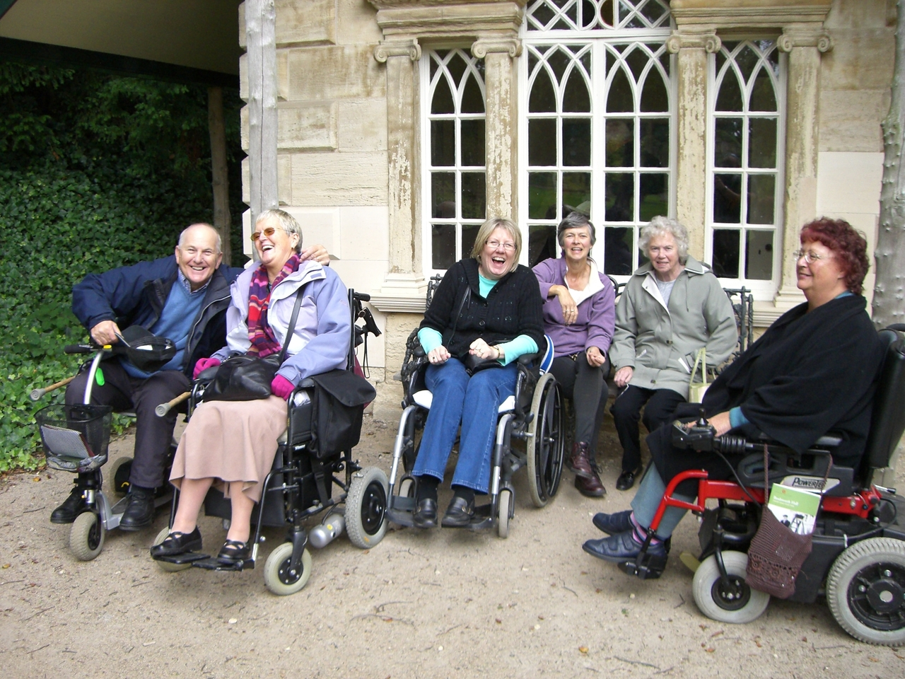 The Open Country Care in the Countryside group enjoys another day out.