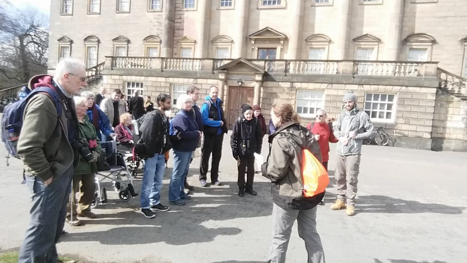 Guided walk at the Nostell launch party