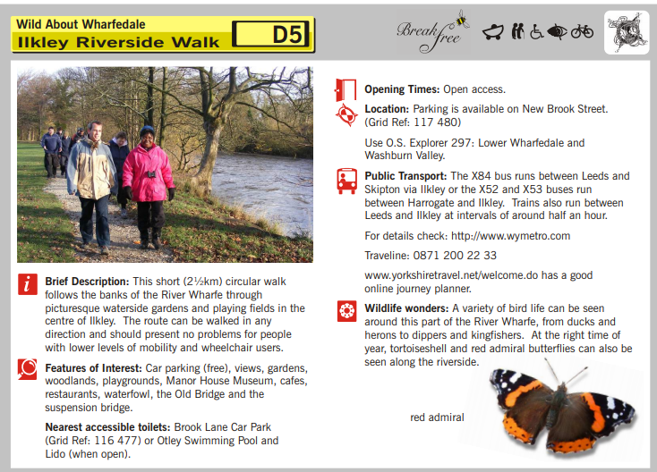 front cover of Wild About Wharfedale pack