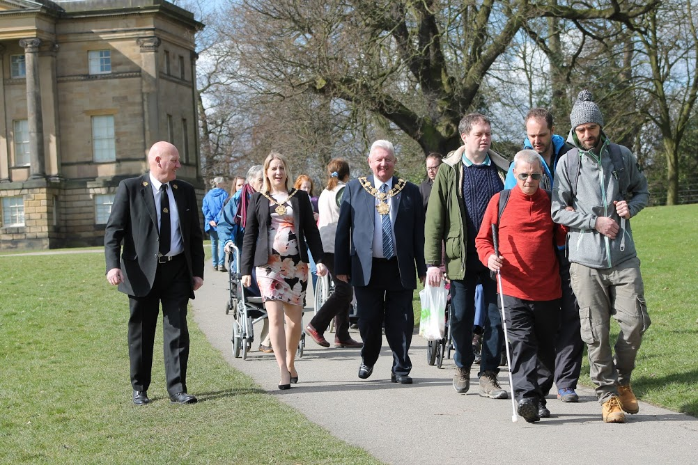 Enjoy a sunny stroll at our 'Wild about Wakefield' launch
