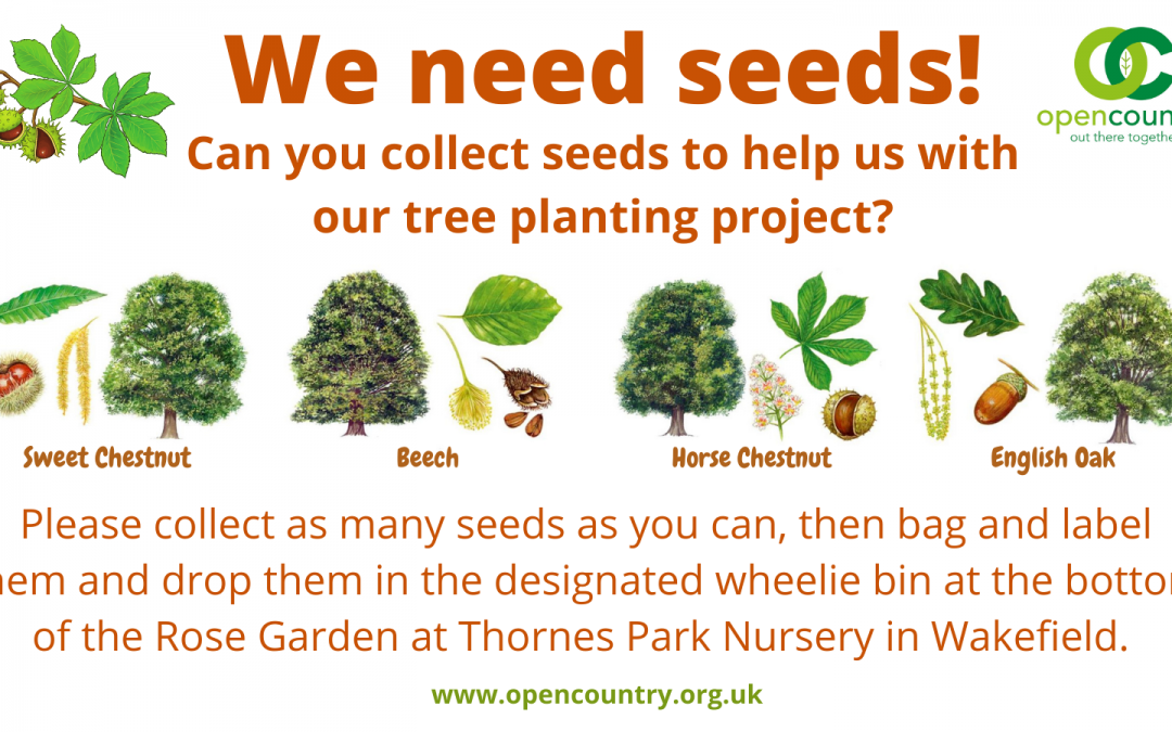 We need seeds!