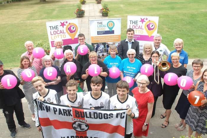 The LOCAL Lotto launches in Harrogate!