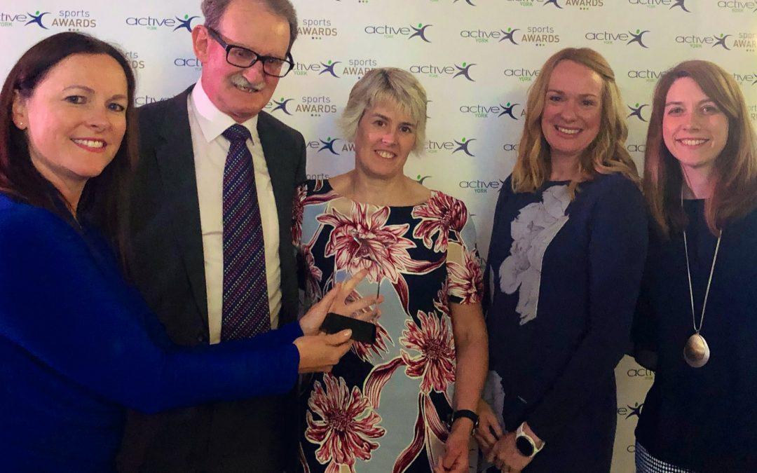 Tandem Triumph at Active York Awards
